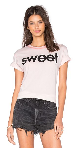 Wildfox Sweet tee in pink