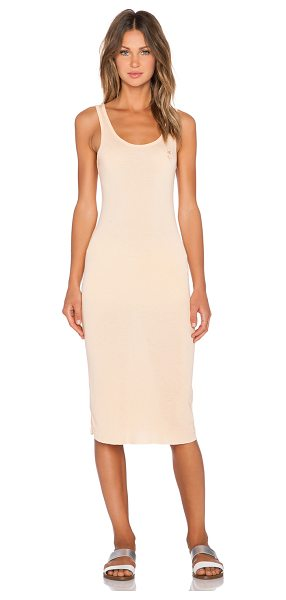 WILDFOX The body dress - 50% poly 50% rayon. Unlined. Embroidered logo....