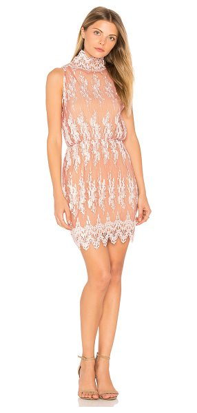 Winona Australia Farrah Short Dress in pink - Self: 100% polyLining: 97% poly 3% spandex. Hand wash...