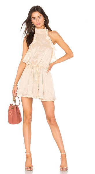 "WINONA AUSTRALIA Sentosa Playsuit - ""Poly blend. Hand wash cold. Halter strap ties around..."