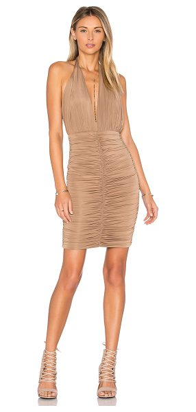 WYLDR Superstition Dress in nude - Self: 97% poly 3% elastaneLining: 65% viscose 30%...