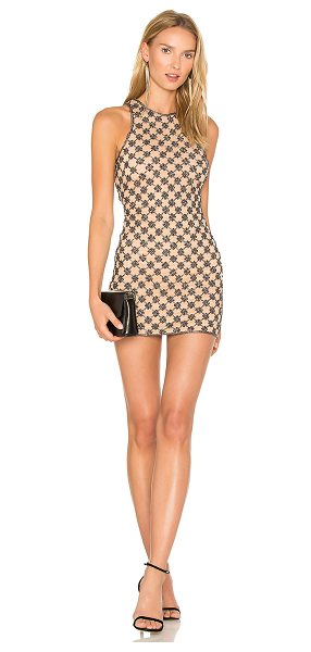X by NBD Augusta Dress in beige - Shimmy and shine the night away in the Augusta Dress...