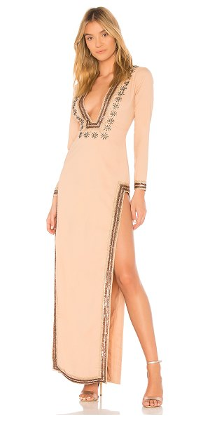 X by NBD Dasha Gown in blush