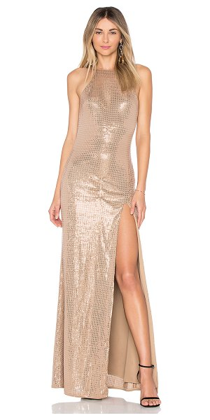 X by NBD Jackie Gown in nude - Enjoy the Laney Dress by NBD this holiday season. A wrap...