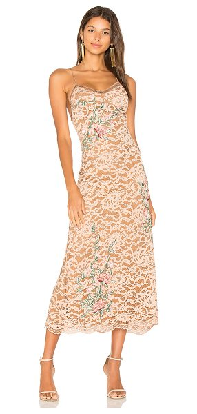 X by NBD Jordan Dress in blush - For the social butterfly who doesn't hide her romantic...