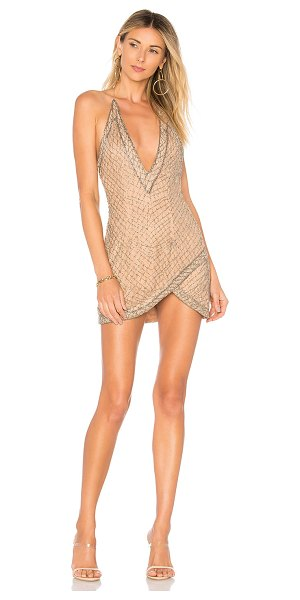 X by NBD Rischa Dress in blush - Self: 100% nylonLining: 91% poly 9% spandex. Dry clean...