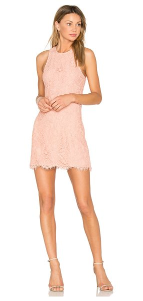 X by NBD Vera Dress in blush - Take your love for lace to another level in the Vera...