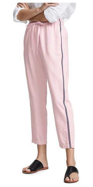 XiRENA rex pants in pink wave - Fabric: Herringbone weave Straight-cut style Cropped...