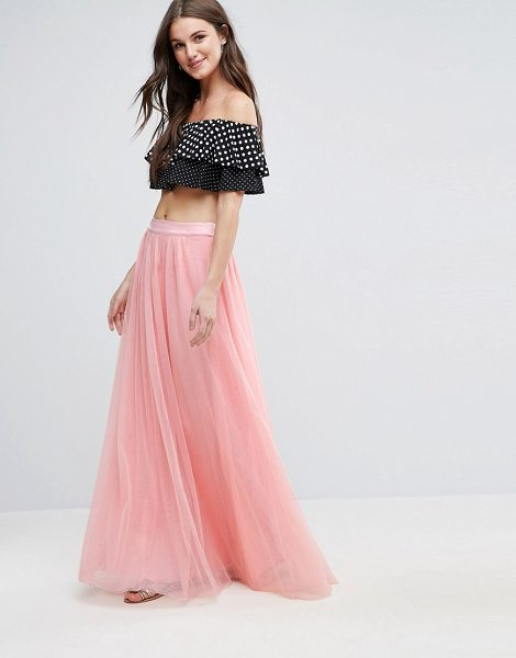 "Y.a.s Mary Maxi Skirt in pink - """"Skirt by Y.A.S, Woven fabric, Silky-feel waistband,..."