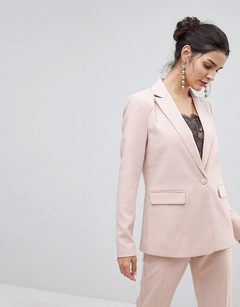 Y.A.S Tailored Blazer in pink - Blazer by Y.A.S, Smart/casual personified, Notch lapels,...