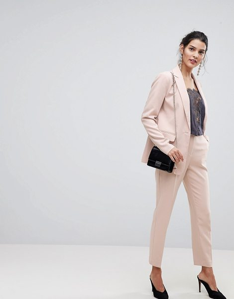 Y.a.s tailored pant in pink - Pants by Y.A.S, High-rise, Just like your standards,...