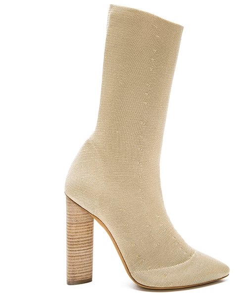 YEEZY Season 2 Low knit boots in neutrals - Prime knit upper with leather sole.  Made in Italy. ...