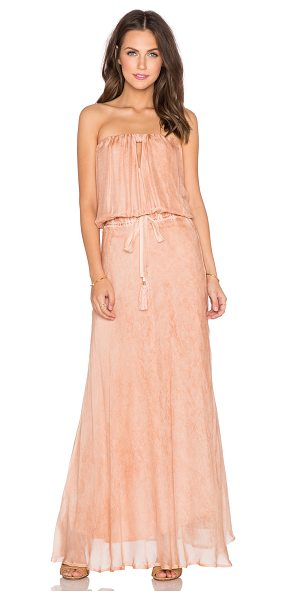 YFB CLOTHING Hester maxi dress in peach