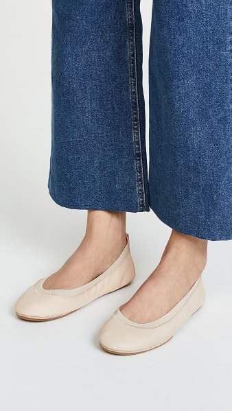 YOSI SAMRA samara ii flats - Foldable Yosi Samra ballet flats in supple leather. A...