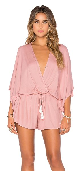 Young Fabulous & Broke Ashley romper in mauve