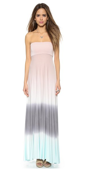 YOUNG FABULOUS & BROKE Bangal convertible maxi dress - A strapless Young Fabulous & Broke maxi dress with an...