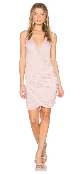 YOUNG FABULOUS & BROKE Cadler Dress - 100% modal. Hand wash cold. Partially lined. Surplice...