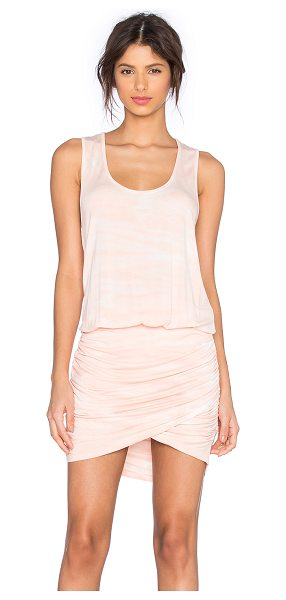 Young Fabulous & Broke Elise Dress in blush - 92% modal 8% spandex. Hand wash cold. Unlined....