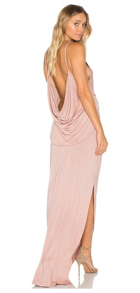 Young Fabulous & Broke Flint Maxi Dress in blush - 92% modal 8% spandex. Hand wash cold. Unlined. Wrap...