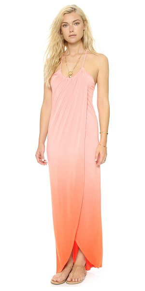 Young Fabulous & Broke Lexie maxi dress in coral - A soft Young Fabulous & Broke maxi dress with a vibrant...