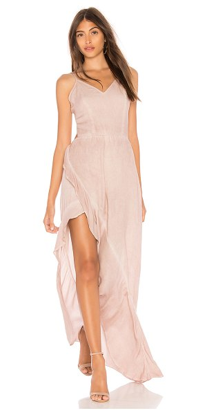 Young Fabulous & Broke Paradise Dress in mauve - 100% rayon. Hand wash cold. Adjustable shoulder straps....