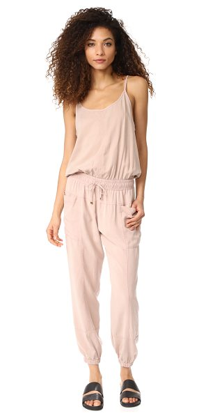 YOUNG FABULOUS & BROKE yfb clothing iver jumpsuit - A utilitarian-inspired Young Fabulous & Broke jumpsuit...