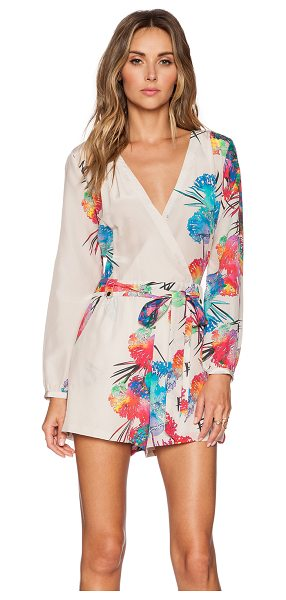 YUMI KIM Carly romper - Self: 100% silkLining: 100% poly. Dry clean only. Wrap...