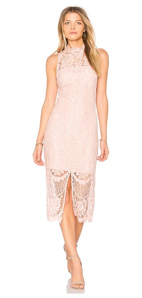 Yumi Kim Get Lucky Dress in blush - Self: 40% nylon 30% cotton 30% rayonLining: 100% poly....