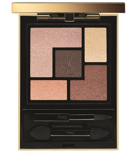 Yves Saint Laurent 5 color couture palette in 14 rosy glow - Yves Saint Laurent 5 Color Couture Palette is filled...