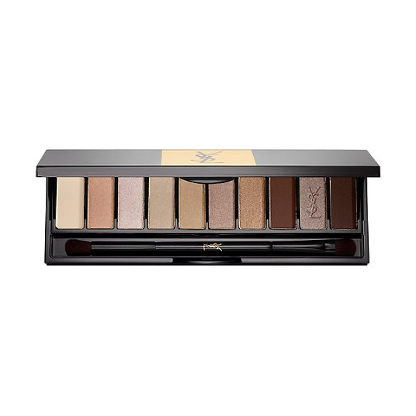 Yves Saint Laurent couture variation 10 color eye palette couture variation nude 0.22 oz/ 6.5 g - A 10-shade eye palette collection with expert gradients...