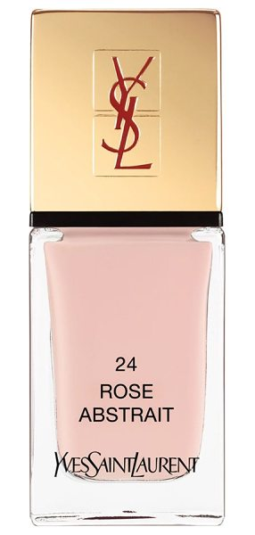 Yves Saint Laurent la laque couture nail lacquer in 24 rose abstrait - Yves Saint Laurent introduces the La Laque Couture...