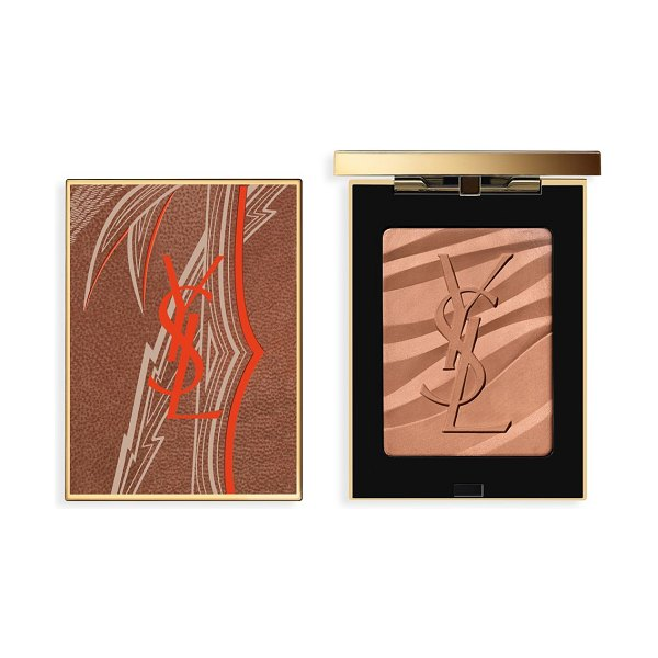 Yves Saint Laurent limited edition luxuriant haven bronzing stone collector in pink