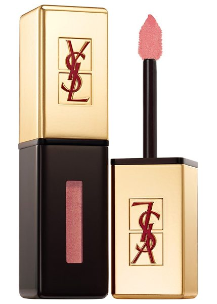 Yves Saint Laurent 'rebel nudes' glossy stain in 106 beige anarchist - Yves Saint Laurent Glossy Stain gives you a gloss, stain...