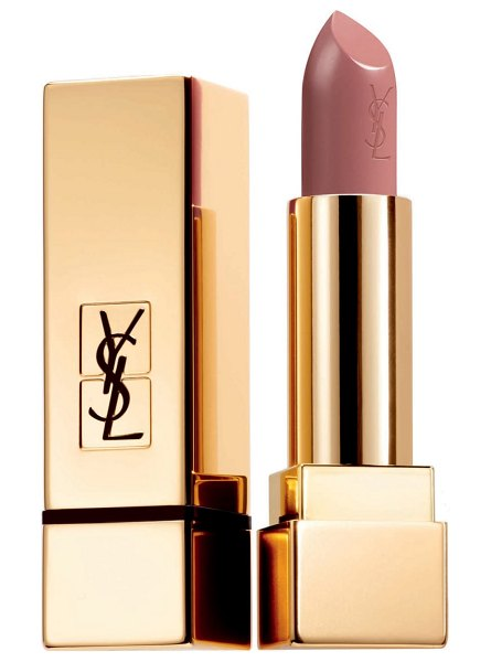 Yves Saint Laurent rouge pur couture satin lipstick in 10 beige tribute