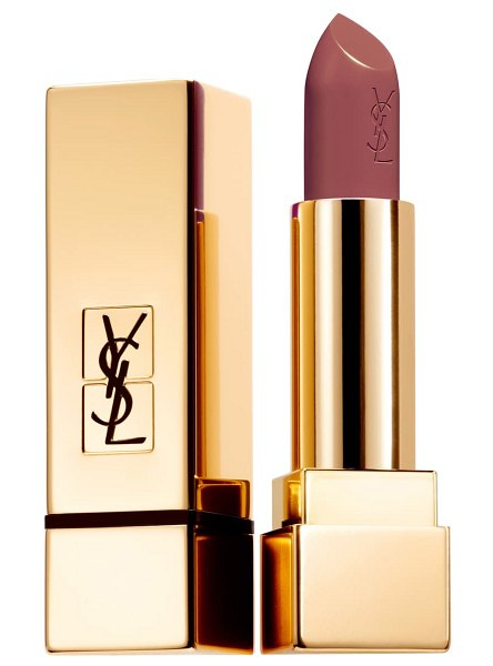 Yves Saint Laurent rouge pur couture satin lipstick in 90 prime beige