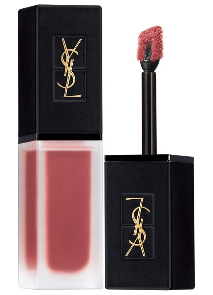 Yves Saint Laurent tatouage couture velvet cream liquid lipstick in 210 nude sedition