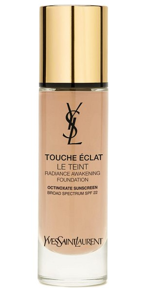 Yves Saint Laurent touche eclat le teint foundation spf 22 in br30 cool almond