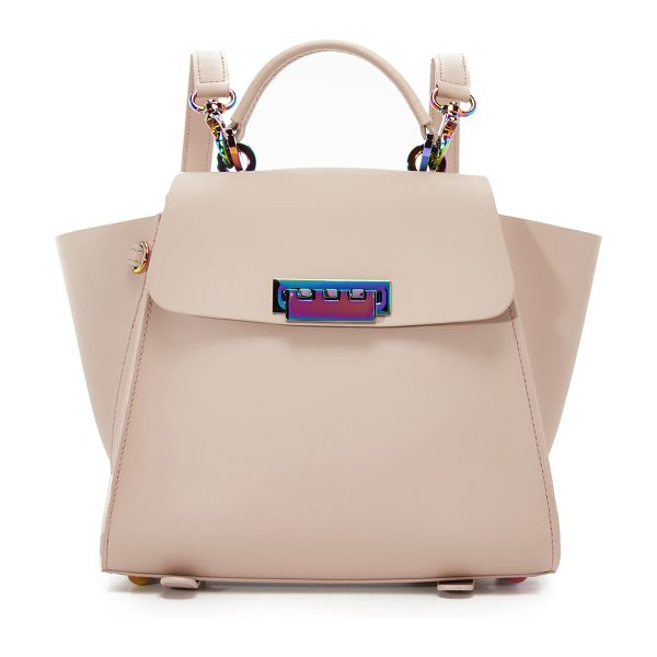 Zac Zac Posen Eartha convertible backpack in blush - This structured ZAC Zac Posen bag can be carried as a...