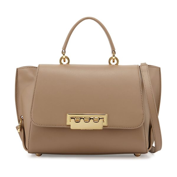 ZAC ZAC POSEN Eartha folded-gusset satchel bag - ZAC Zac Posen leather satchel bag. Golden hardware....