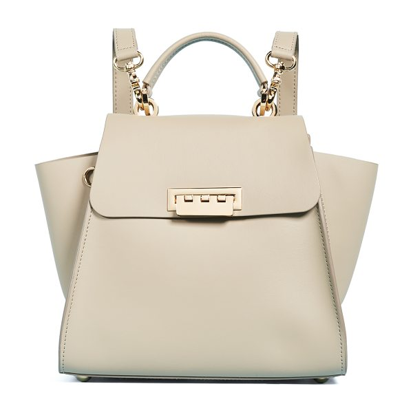 Zac Zac Posen eartha iconic convertible backpack in beige - This structured ZAC Zac Posen bag can be carried as a...