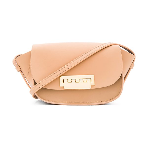 ZAC ZAC POSEN Eartha iconic micro accordion crossbody bag - Leather exterior and lining. Flap top with fold over...