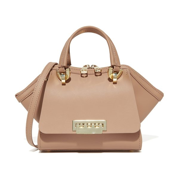 ZAC ZAC POSEN eartha iconic mini double handle bag in english rose - A scaled-down ZAC Zac Posen tote with flared sides,...