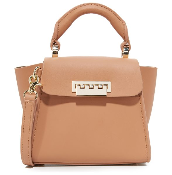 Zac Zac Posen eartha iconic mini top handle bag in ginger - A miniaturized take on the signature ZAC Zac Posen...