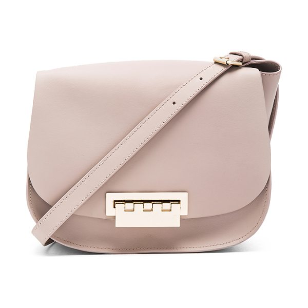 ZAC ZAC POSEN Eartha Iconic Saddle Bag - Leather exterior and lining. Flap top with fold over...