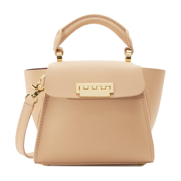 ZAC ZAC POSEN Eartha top handle mini bag in butter - A mini version of a smooth leather ZAC Zac Posen bag...