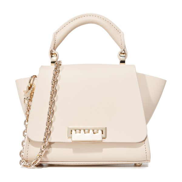 Zac Zac Posen eartha top handle mini cross body bag in sand dollar