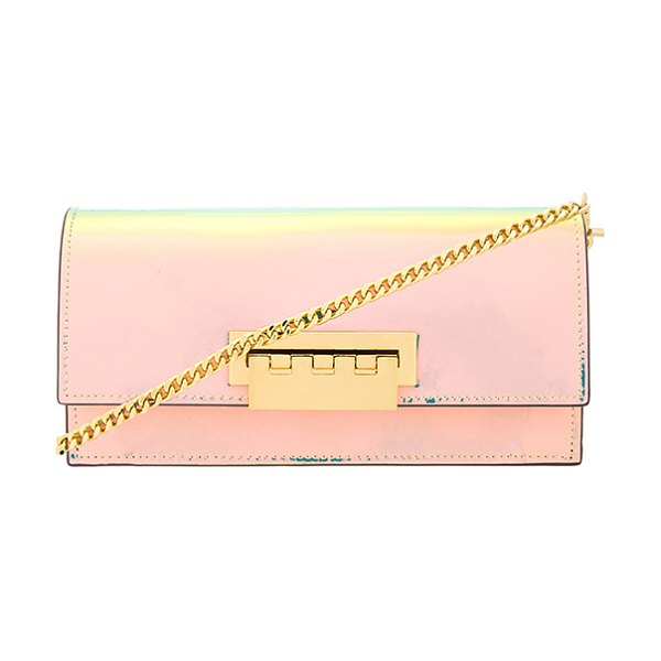 Zac Zac Posen Earthette Flat Crossbody in pink