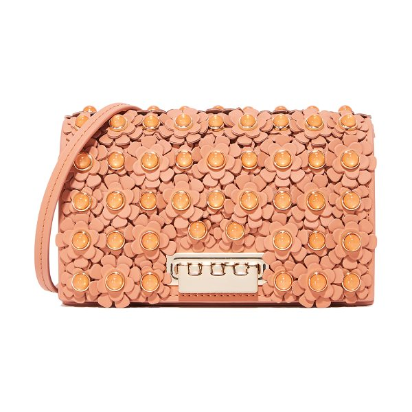 Zac Zac Posen earthette floral cross body bag in ginger