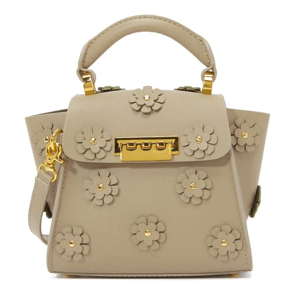 Zac Zac Posen Floral eartha cross body bag in beige