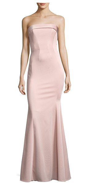 "ZAC ZAC POSEN Malena Strapless Trumpet Evening Gown - ZAC Zac Posen ""Malena"" evening gown in stretch faille...."